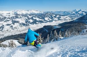 Schifahrerin Choralpe-Abfahrt